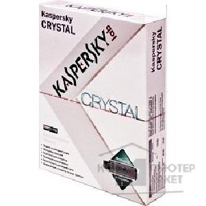 Программное обеспечение Kaspersky KL1901RBBFS-F  CRYSTAL Russian Edition 2-Desktop 1 year Base Box with flash card