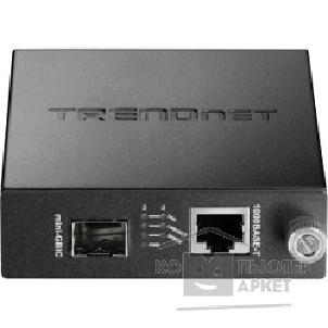Сетевое оборудование TRENDnet TFC-1000MGA Intelligent 100/ 1000Mbase-T to SFP Media Converter