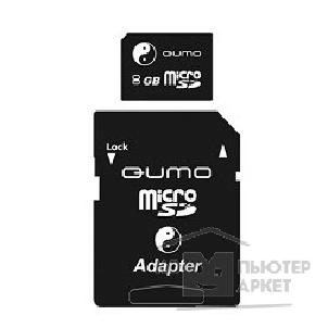 ����� ������  Qumo Micro SecureDigital 8Gb  QM8GMICSD-Y&Y