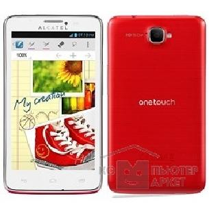 ��������� ������� Alcatel  One Touch SCRIBE EASY 8000D Red