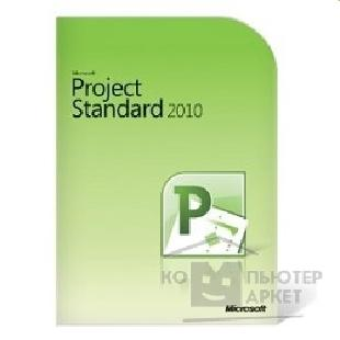 Программное обеспечение Microsoft 076-04918 Project 2010 32-bit/ x64 Russian Russia Only DVD