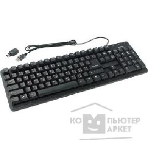 Клавиатура Sven Keyboard  Standard 301 USB+PS/ 2 чёрная SV-0310301PUB