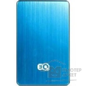 "носитель информации 3Q Portable HDD 1TB, Blue&black, Alu-mini, 2.5"" SATA HDD 5400rpm inside, USB3.0, HDD-T223M-LB1000"