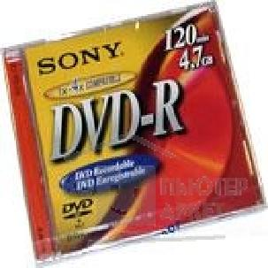 Диск Mirex DVD-R 4x, диск 4.7 Gb, SONY, Jewel Case [DMR47N2]