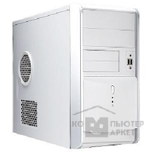 Корпус Inwin Mini Tower  EM-007W White 350W 12V 2*USB+AirDuct+Audio mATX [6005729/ 6008508]