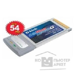 Сетевое оборудование D-Link DWL-G650 802.11g  Wireless LAN CardBus Adapter