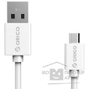 Кабели Orico  CMR2-10-WH Кабель USB2.0 A male to microUSB 2.0 1.0m CMR2-10 белый