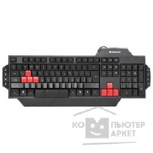 Клавиатура Defender Keyboard  Warhead GK-1300 USB 45702