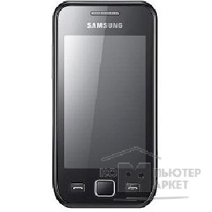 Samsung Телефон  Wave 525 S5250 Metallic Black [GT-S5250HKASER]
