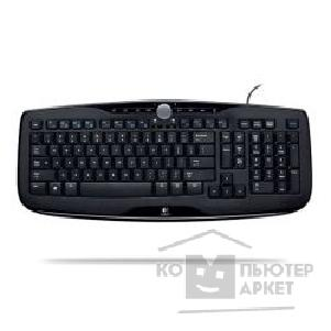 Клавиатура Logitech 920-000047  Media Keyboard 600 USB, RTL