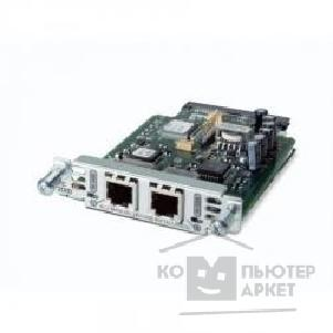 Сетевое оборудование Cisco VIC3-2FXS/ DID= Two-Port Voice Interface Card- FXS and DID