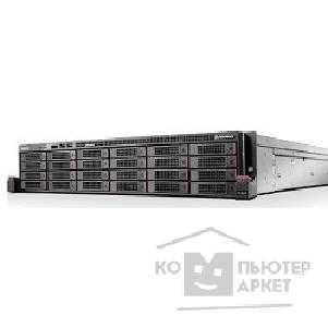 "Сервер Lenovo ThinkServer RD650: 70D40015EA Intel® Xeon® E5-2609 V3/ 6C/ 85W/ 1.90GHz/ 15MB/ 6.40GT, 8 GB 1 x 8 GB DDR4-2133MHz 1Rx4 , 15 x 3.5"" HS / 2.5"" HS, 0,1,5,6,10,50,60, 750W Platinum PSU, 3 Year Warra"