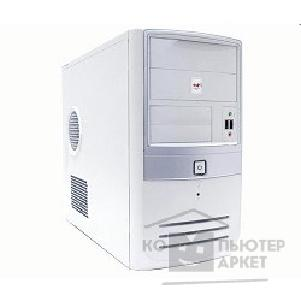Корпус Inwin Mini Tower  EM-003W White 350W 12V 2*USB+AirDuct+Audio mATX [6008507]