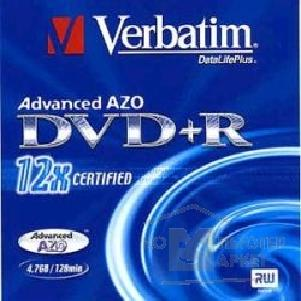 Диск Tdk DVD+R 12x, 4.7 Gb, Verbatim, Jewel Case 43474/ 73
