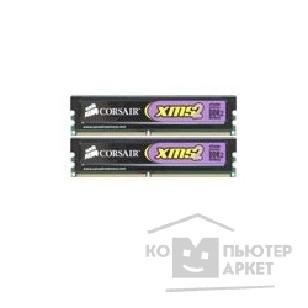 Модуль памяти Corsair  DDR-II 2GB PC2-8500 1066MHz Kit 2 x 1GB  [TWIN2X2048-8500]