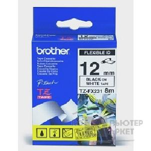 ��������� ��������� Brother  TZE-FX231 ������ � ������� ������ ����� �� ����� ������