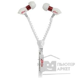 Наушники Ritmix RH-155 Zipper, White