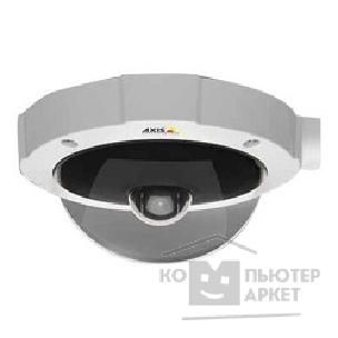Цифровая камера Axis M5014 Ceiling-mount mini PTZ dome camera with HDTV 720p resolution, 16:9 format and 3x digital zoom.1280x720 @ 30fps in H.264 and Motion JPEG. IP51 protection against dust and water.