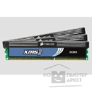 Модуль памяти Corsair  DDR-III 6GB PC3-10666 1333MHz Kit 3 x 2GB  [TR3X6G1333C7]