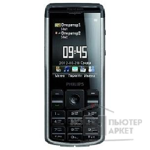 Мобильный телефон Philips Xenium Champion X333 Black / Grey