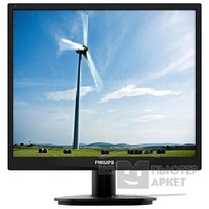 "Монитор Philips LCD  19"" 19S4LSB5 10/ 62 Black"