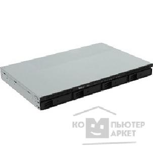 Дисковый массив Synology RS816  Rack1U DC1,8 GhzCPU/ 1Gb/ RAID0,1,10,5,6/ up to 4hot plug HDDs SATA 3,5' or 2,5' up to 8 with RX415 / 2xUSB/ 1eSATA/ 2GigEth/ iSCSI/ 2xIPcam up to 16 / 1xPS/ no rail/ 3YW