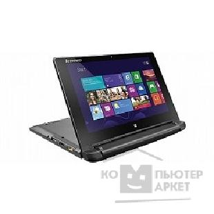 "Ноутбук Lenovo IdeaPad Flex 10 [59409672] black 10.1"" HD TS N2806/ 2Gb/ 500Gb/ noDVD/ Cam/ BT/ WiFi/ W8.1"