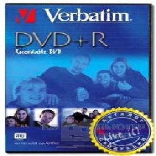 Диск Verbatim DVD+R , Live it! Video Box  43177/ 43176