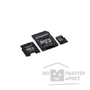 Карта памяти  Kingston Micro SecureDigital 4Gb  SDC4/ 4GB-2ADP CR