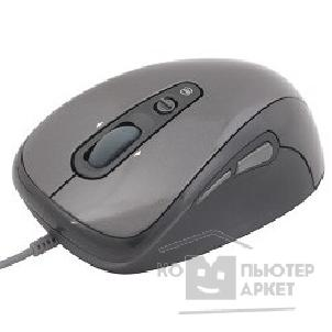Мышь Oklick 720L silver/ black optical mouse, USB, 800/ 1600dpi