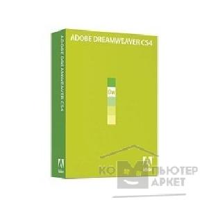 ���������������� ����� �� ������������� �� Adobe 65014009BS Dreamweaver CS4 v.10 RU WIN AOO 400
