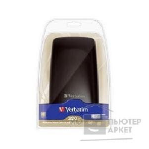 носители информации Verbatim HDD 320Gb  USB2.0 Portable HDD [47635/ 53014] Black