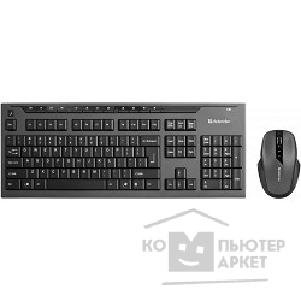 Клавиатура Defender Keyboard  Oxford C-975 Nano B Черный [45975]