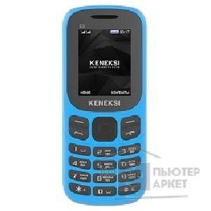 Кенекси KENEKSI E3 Blue 1.77'' 128x160 up to 16GB flash 2 Sim 650mAh Bluetooth