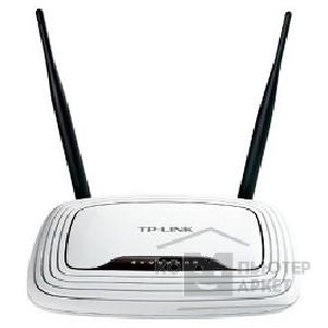 Сетевое оборудование Tp-link TL-WR841N 300Mbps Wireless N Router, Atheros, 2T2R, 2.4GHz, 802.11n/ g/ b, Built-in 4-port Switch, with 2 fixed antennas, Support Russian PPTP/ L2TP/ PPPoE, Support IGMP Snooping/ Proxy and Bridge