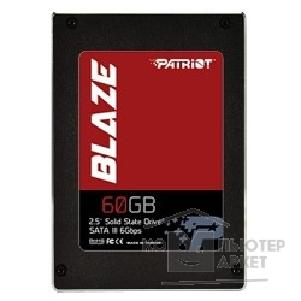 носитель информации Patriot SSD 60Gb Blaze PB60GS25SSDR