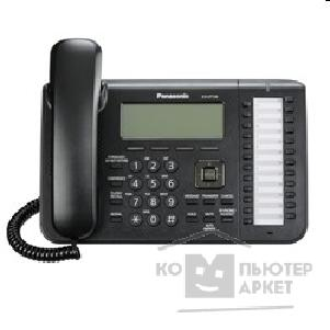 Телефон Panasonic KX-UT136RUB черный SIP-телефон без блока питания