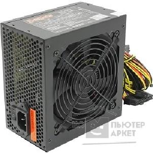 Блок питания EXEGATE  EX219464RUS Блок питания 500W ATX-XP500 RTL, black, 12cm fan, 24+4p, 6+2 p PCI-E, 3*SATA, 1*FDD, 2*IDE
