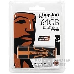 Носитель информации Kingston USB 2.0  USB Memory 64Gb, DTR500/ 64GB