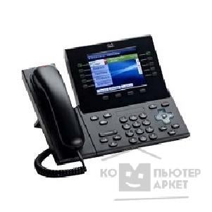 Интернет-телефония Cisco CP-8961-C-K9=  Unified IP Endpoint 8961, Charcoal, Thick handset
