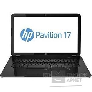 "Ноутбук Hp Pavilion 17-e061sr F0G24EA 17.3"" 1600x900 / Intel Core i3 3110M 2.4Ghz / 4096Mb/ 500Gb/ DVDrw/ Ext:AMD Radeon HD8670M 1024Mb / Cam/ BT/ WiFi/ 47WHr/ war 1y/ 2.9kg/ mineral black/ W8"