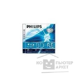 Диск Philips 9048 Диски BD-RE Blu-Ray , 2x, 25 Gb, Jewel Case