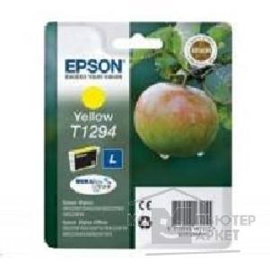 Расходные материалы Epson C13T12944021 Картридждля SX420W, SX425W, SX525WD, SX620FW, BX305F, BX305FW, BX320FW, BX525WD, BX625FWD, yellow, L, security version