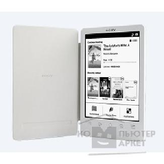 "Электронная книга Sony E-book  PRST3WC.RU2 6"" E-Ink HD Pearl/ 2Gb/ microSDHC white"