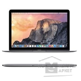 "Ноутбук Apple MacBook MJY32RU/ A Space Grey 12"" Retina 2304x1440 Intel Core M-5Y51 1.1GHz TB 2.4GHz / 8GB/ 256GB SSD/ HD Graphics 5300/ USB-C Early 2015"