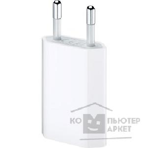 Аксессуар Apple MD813ZM/ A  USB Power Adapter only  5W USB Power Adapter