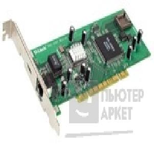 Сетевая карта D-Link DGE-510T PCI-bus 32bit Gigabit Ethernet Adapter UTP 10/ 100/ 1000Mbps