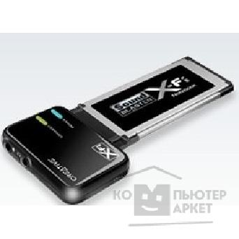 Звуковая плата Creative SB X-Fi Notebook Xpress Card 34/ Wireless ready RTL 70SB095000002