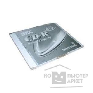 Диск CD-R диски SKC 48X 700Mb, Slim Case