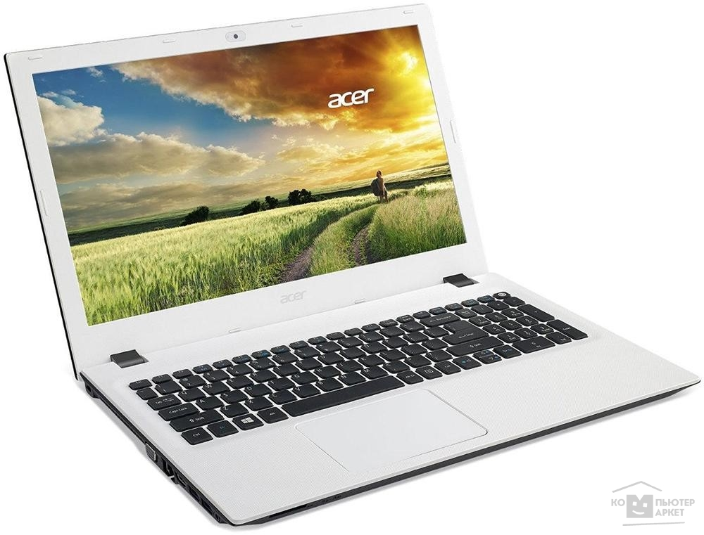 "Acer Ноутбук  Aspire E5-573-C76S Celeron 2957U/ 4Gb/ 500Gb/ DVD-RW/ Intel HD Graphics/ 15.6""/ HD/ Windows 10/ white/ WiFi/ BT/ Cam"